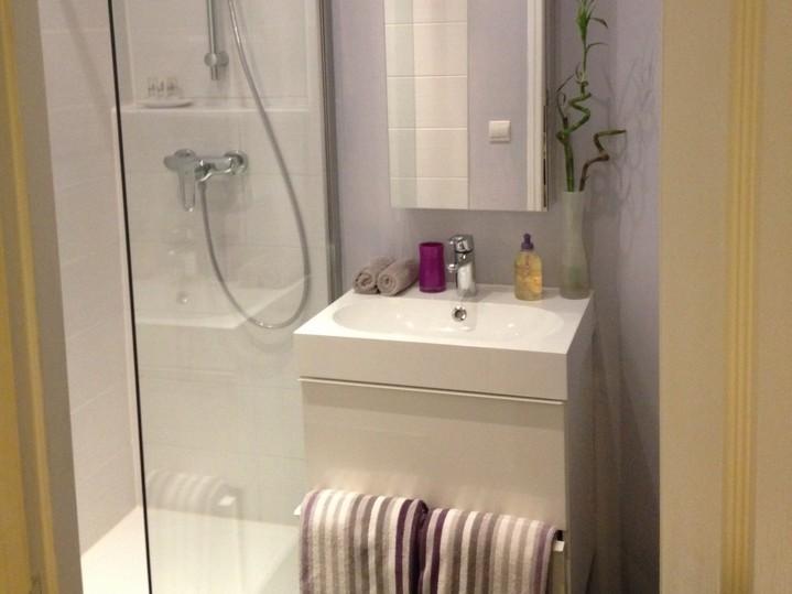 Salle de bain rue du Ponceau, Paris 3ème, avant