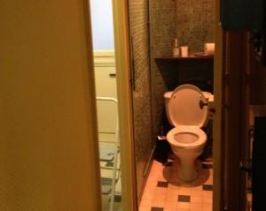 Rue de Dunkerque, Paris 10, transformation de la cuisine et des WC en salle de bain